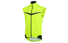 PEARL iZUMi Men's Elite Barrier Vest screaming yellow/black